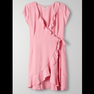 Aritzia - Sunday Best Savoy Dress - Gemini Pink